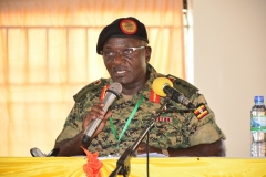 CDF GEN EDWARD KATUMBA WAMALA CONTRIBUTING DURING 10TH AGM